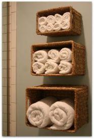 serviettes roulées