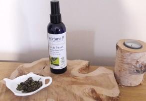 eau de thé vert routine
