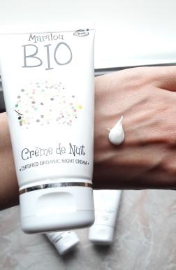 texture crème nuit marilou