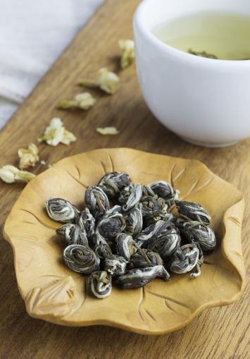 perles de jasmin thé