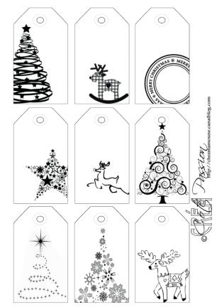 Etiquette Menu De Noel A Imprimer.Etiquettes De Noel A Imprimer