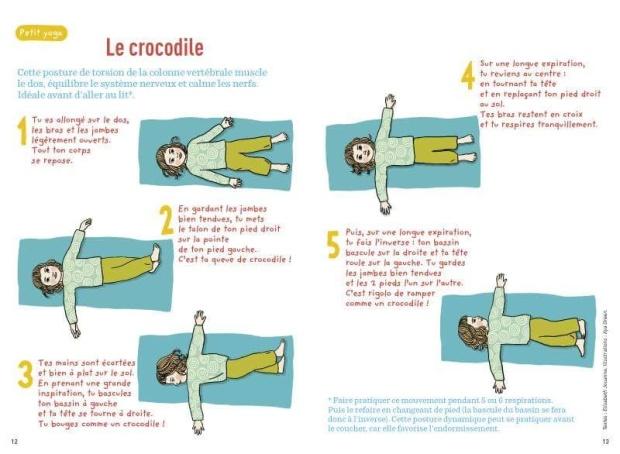 le crocodile yoga