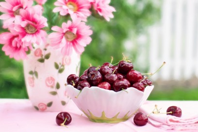 cerises fruits rouges