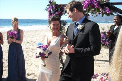 chuck et sarah mariage mer