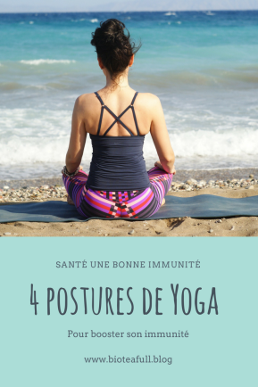 yoga immunité Pin