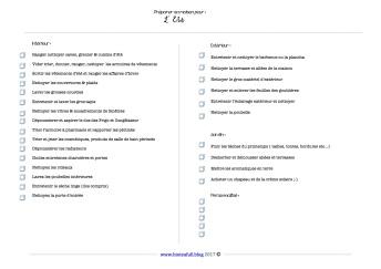 checklist noir et blanc maison ETE A5 bioteafull blog