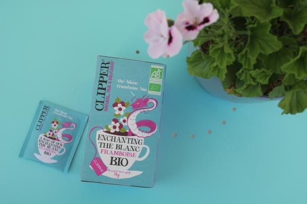 thé blanc clipper